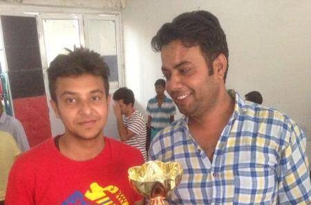 Sahil Dhawan 2016 Haryana State Champion