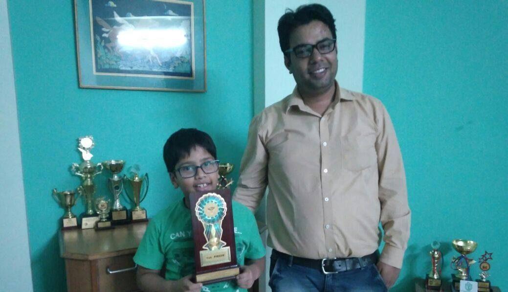 Nirnay Garg 2018 Haryana State Champion