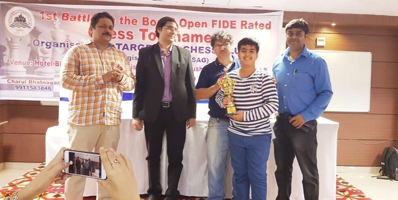Kabir Singh Ahuja got 3rd position