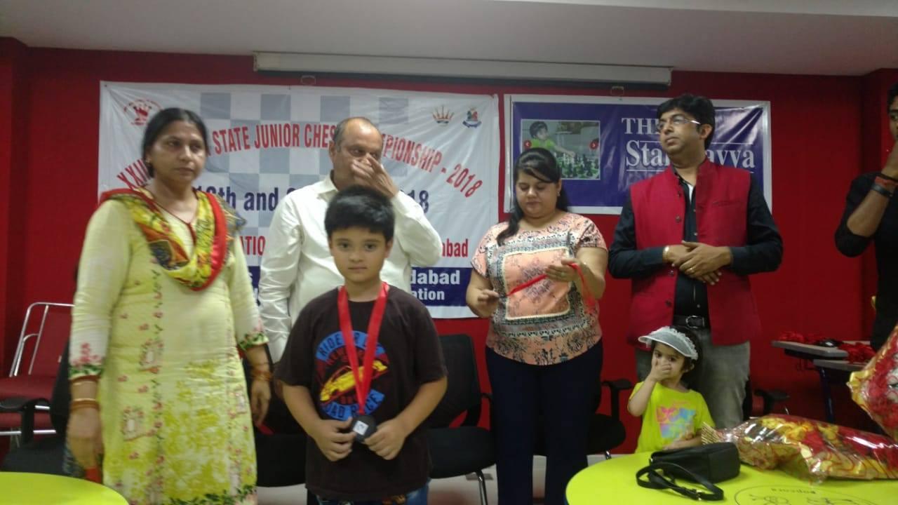 Dhruv Singh Bisht, 2018 Haryana Junior Championship