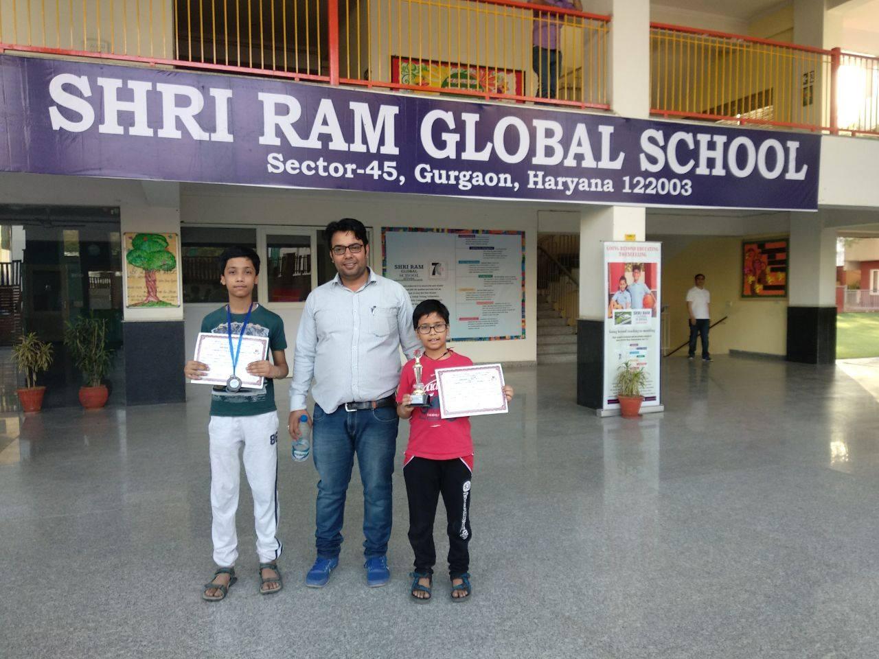 S R G S 1st Inter School U-11 Mixed Chess tournament 2018